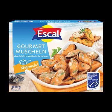 Gourmet Mussels à la marinière