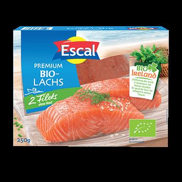 2 Salmon Fillets Organic